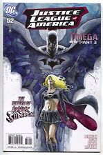 Justice League Of America 52 B 2nd Series DC 2011 NM- Signed David Mack Variant