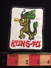 Martial Arts Green Headed KUNG FU Dragon Patch ~ Kungfu S60F