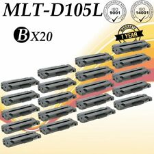20 PK MLT-D105L Black Toner Cartridge For SAMSUNG SCX-4600 SCX-4623F SCX-4623FN