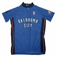 NBA Oklahoma City Thunder Women's Short Sleeve Away Cycling Jersey