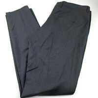 Nordstrom Wool Suit Separate Dress Pants Men's Size 38 Trim Fit Solid Dark Gray