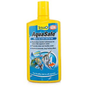 Tetra AquaSafe Aquarium Tap Water Conditioner - 500ml