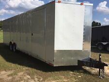 8.5 x 28 Enclosed Cargo Trailer / mobile storage building