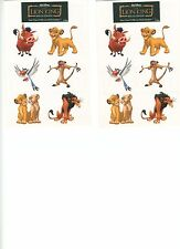 60 Disney Lion King Temporary Tattoos