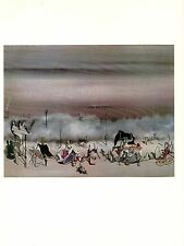 """1973 Vintage SURREALISM """"THE RIBBON OF EXTREMES"""" by YVES TANGUY Color Lithograph"""