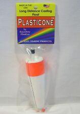 "Rainbow Plastics 4"" Popper Plasticone Casting Weighted Slip Bobber Float"