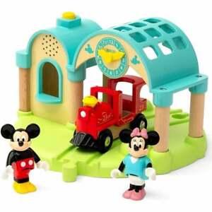 32270 Brio Disney Mickey & Friends - Mickey Mouse Train Station sound  UK Seller