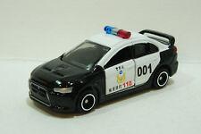 TOMICA~MITSUBISHI LANCER EVOLUTION X TAIWAN Police Car ~ 1/61 Free shipping