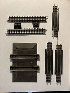 Lot of 6 Atlas PECO Bachmann N Scale Track Pieces Straight