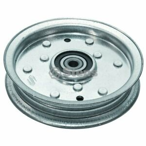 RIDE ON MOWER FLAT IDLER PULLEY FOR SELECTED MTD & CUB CADET MOWERS 756-04129