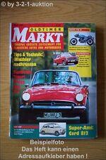 Oldtimer Markt 2/93 Fiat 600 Ascona a Ducati 750 Ss