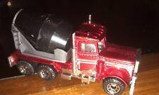 Matchbox Red Peterbilt Cement Truck 1981 Great Condition!