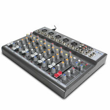 7 Channel Mixing Desk Echo 48v Phantom Record out & USB Stage Bands