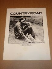 "James Taylor ""Country Road"" sheet music"