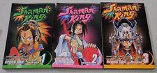 Lot of 3 Shaman King Shonen Jump Magna Vol 1-3 Graphic Novels