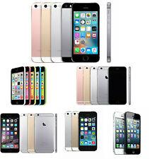 Apple iPhone 4 4S 5 5C 5S 6 6S  Factory Unlocked Smartphone