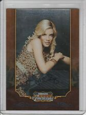 TORI SPELLING AUTOGRAPH #/73 2009 AMERICANA PRIVATE SIGNINGS