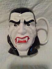 Large DRACULA  Vampire figure Head Mug Universal Monsters Teleflora Gift