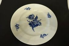 "opm74 Royal Copenhagen Porcelain 7 1/2"" Blue & White Floral Plate"