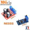 NE555 Module générateur d'impulsion duty cycle réglable fréquence | Arduino PIC