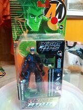 Gioco Action Figure hasbro action man Atom Night Ops Hawk 2005 Nuovo collezione