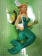 December Diamonds mermaid ornament Soda NIB retired