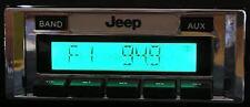 1978 - 1986 Jeep CJ5 CJ7 USA 230 Radio Stereo NEW AM/FM MP3 Aux imput