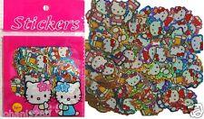 Hello Kitty 100 mini stickers (max hoogte = +/- 25 mm)