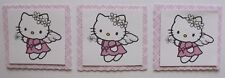PK 3 ANGEL HELLO KITTY TOPPERS FOR CARDS & CRAFTS