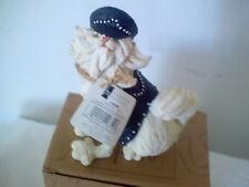 COUNTRY ARTISTS A BREED APART Juniors CAABA PERSIAN CAT BIKER NEW In BOX CA05098