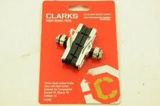 TWO PAIRS CLARKS ELITE ROAD BRAKE PADS W/ LIGHTWEIGHT FOR CAMPAG RECORD, CHORUS