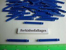 """300 KNEX BRIGHT ROYAL BLUE RODS 2 1/4"""" Bulk Standard 2.25"""" Parts / Pieces Lot"""