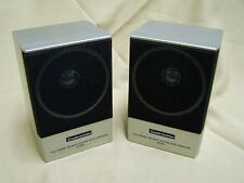 PAIR Audio Technica AT-SP5 Amplified Battery Powered Speakers personal MONITORs