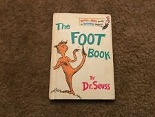 Bright and Early Books The Foot Book by Dr. Seuss 1968 Hardcover