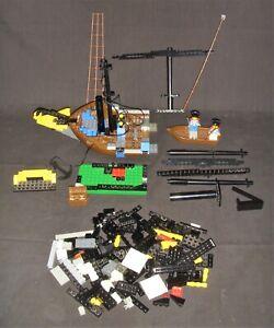 1989 LEGO 6274 CARIBBEAN CLIPPER PARTS INCOMPLETE 2 MINI FIGS NO BOX NO INSTRCNS