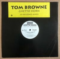 "Tom Browne ‎– Ghetto Horn (D-Influence Mixes)  Orig UK Promo 12"" Vinyl"
