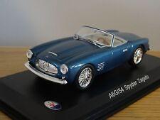 LEO Altaya MASERATI A6G/54 Spyder Zagato 1955 BLU METALLICO AUTO MODELLO HD38 1:43