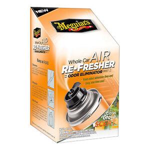 Meguiar's G16502 Whole Car Air Refresher Odor Eliminator 2.5 oz. Citrus Grove