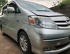 2004 TOYOTA ALPHARD 2.4 HYBRID BREAKING FOR SPARES PARTS