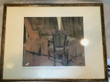 Original Lithograph Sigmund Abeles Pastel Signed Numbered & Title in Pencil ExC