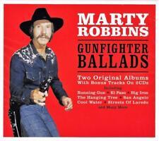 MARTY ROBBINS - GUNFIGHTER BALLADS -Two Original Albums+Bonus Tracks (NEW  2CD)