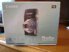 Canon ELF 135 16.MP Digital Camera Silver With Battery Charger SD Card Box