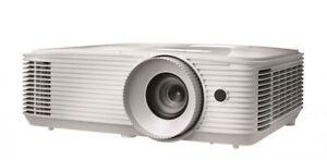 OPTOMA WU337 WUXGA 3600 LUMENS PORTABLE 3D DLP PROJECTOR WHITE WU337