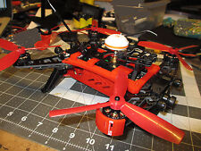 Walkera Runner 250 Drone Lower & Upper Frame Support W/4 Motor Guards 3D Printed