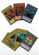 7* Ultra Set YUGIOH-OBELISK-SLIFER-RA-EGYPTIAN-GODS +DUELIST KINGDOM TOKEN YGLD