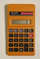 Sharp Electronic Calculator EL-231C ELSI Mate. Works.