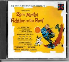 CD COMEDIE MUSICALE BROADWAY--ZERO MOSTEL FIDDLER ON THE ROOF