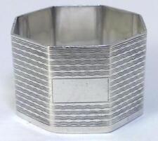 Vintage hallmarked Sterling Silver Napkin Ring (not inscribed) – 1942  (34g) - 2