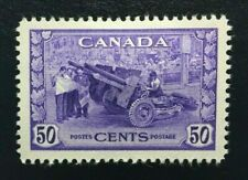 Canada #261 VF MH, King George VI War Issue - Munitions Factory Stamp 1942 (1)