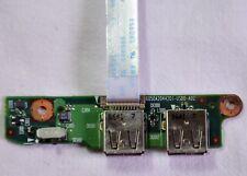 Genuine Toshiba Satellite Equium A100 USB Board & Ribbon Cable 6050A2044201(114)